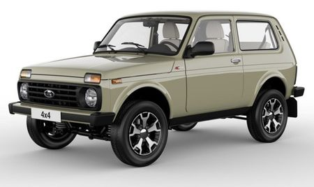 Xe Nga Lada duoc sanh ngang voi Land Rover ra phien ban dac biet - Anh 1