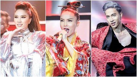 'Geisha' Yen Trang quyen ru, lanh lung tra thu nguoi yeu tren san khau Remix NewGen - Anh 1