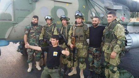 Mot thieu ta co van Nga thiet mang vi khung bo IS o Syria - Anh 1