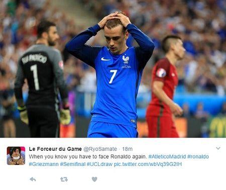 Griezmann chi luon lam 'nen' cho Ronaldo, tu CLB cho den DTQG - Anh 5
