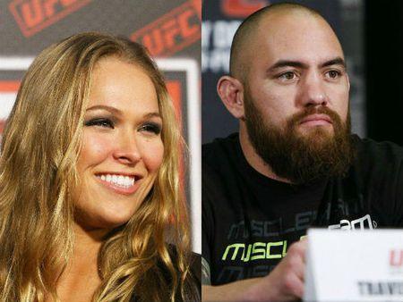 """""""Nu hoang UFC"""" dinh hon ga vu phu: Ngoi sao sap tan - Anh 1"""