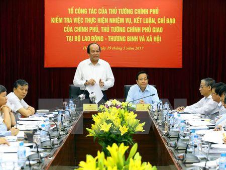 Bo Lao dong-Thuong binh va Xa hoi ly giai 3 nhiem vu chua hoan thanh - Anh 1