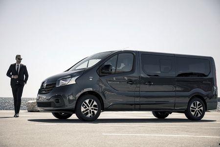 Renault 'trinh lang' xe Van hang sang Trafic SpaceClass - Anh 2
