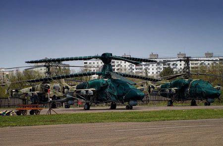 Thang loi o Syria, truc thang tan cong Ka-52 'sot xinh xich' - Anh 2
