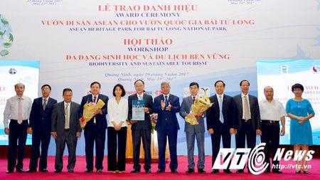 Vuon Quoc gia Bai Tu Long don nhan danh hieu vuon Di san ASEAN - Anh 1