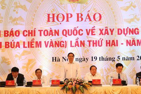 Phat dong giai bao chi Bua liem vang lan thu hai - 2017 - Anh 1