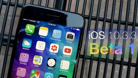 Apple tung ra iOS 10.3.3 beta - Anh 1