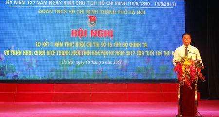 Trien khai chien dich Thanh nien tinh nguyen He 2017 - Anh 1