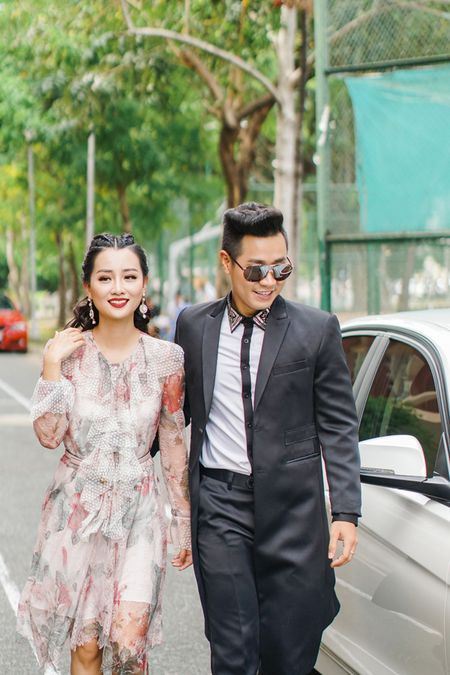 MC Nguyen Khang cham soc Quynh Chi nhu tinh nhan - Anh 3