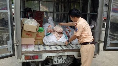 Thanh Hoa: Bat giu hon 400kg mo dong vat khong co nguon goc - Anh 1