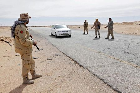 Giao tranh dam mau o Libya, 60 nguoi chet - Anh 1