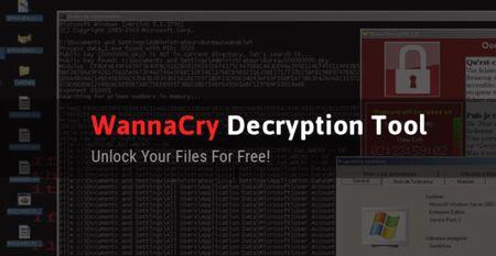 Da tim ra cong cu cuu cac file nhiem WannaCry khong can tra tien chuoc cho hacker - Anh 1