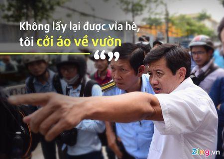 Ong Doan Ngoc Hai noi ly do khong duoc 'xuong duong' dep via he - Anh 1