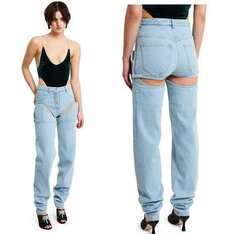 Lai xuat hien kieu quan jeans la trong lang mot - Anh 1