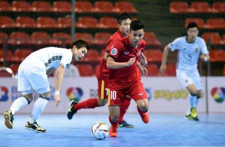 U20 Futsal Viet Nam dung buoc sau tran thua U20 Futsal Nhat Ban - Anh 1