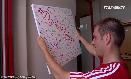 Bayern to chuc chia tay Philipp Lahm va Xabi Alonso - Anh 3