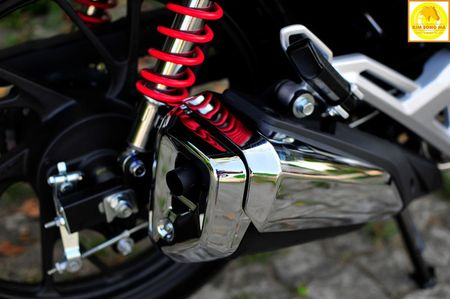 'Xe no' Honda CBF125R gia 40 trieu tai Da Nang - Anh 7