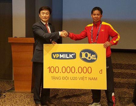 VPMilk tang U20 Viet Nam 100 trieu sat them World Cup - Anh 1