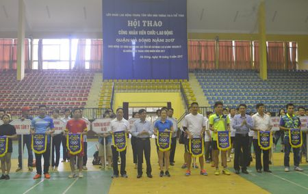 Hoi thao CNVCLD quan Ha Dong nam 2017 - Anh 1