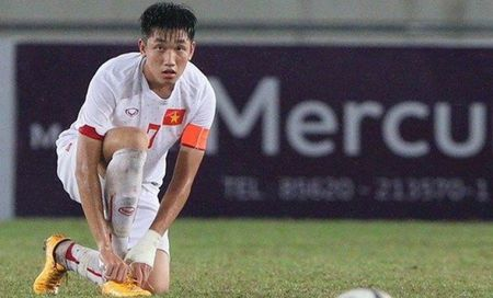 Trong Dai tai phat tran thuong truoc 'dai chien' U20 New Zealand - Anh 1