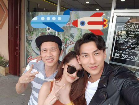 Thanh Thao hanh phuc ben ban trai, Dan Truong lo dien cung 'quy tu' - Anh 10