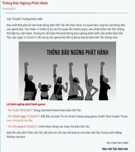 Dao Hai Tac chia tay game thu Viet sau 1 nam gan bo - Anh 3