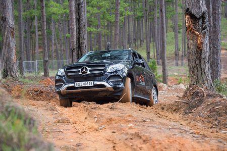 Dem dan xe Mercedes 16 ty vao rung off-road - Anh 5