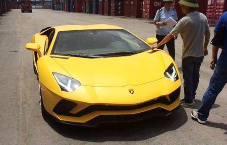 Sieu xe Lamborghini Aventador S dau tien ve Viet Nam - Anh 1