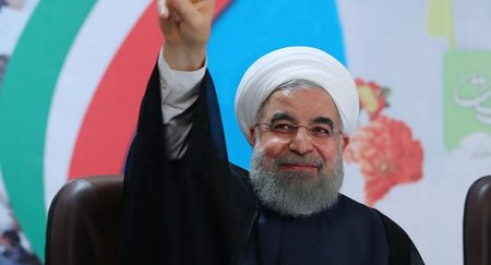 Nga chuc mung Tong thong Iran Rouhani tai dac cu - Anh 1