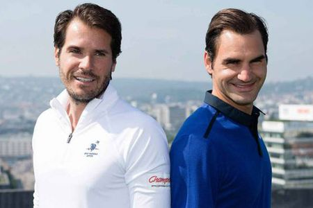 Tennis ngay 15/6: Federer thua ngay trong ngay tro lai. Murray biet se mat ngoi so 1 the gioi - Anh 1