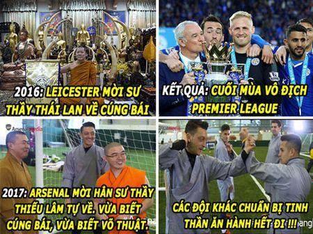 HAU TRUONG (19.6): Arsenal hoc doi Leicester, moi nha su ve 'yem bua' - Anh 3