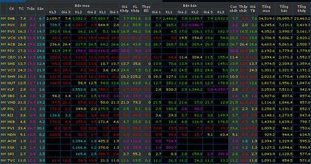 HNX-Index gan cham nguong 100 diem - Anh 1