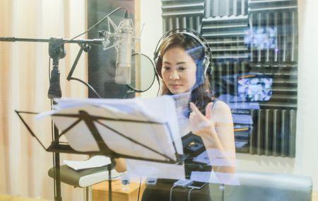 Toc Tien say sua tap hat cung Thu Minh den 2h sang - Anh 1
