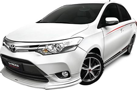 Toyota Viet Nam tung phien ban Vios TRD 2017 moi gia 644 trieu dong - Anh 1