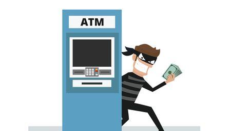 Bon toi pham lay thong tin the cua ban tai tram ATM nhu the nao? - Anh 1