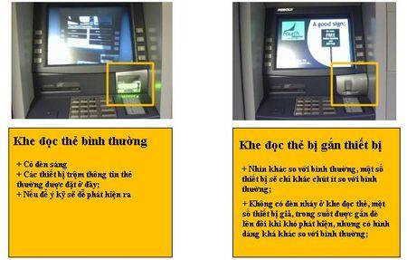 Bon toi pham lay thong tin the cua ban tai tram ATM nhu the nao? - Anh 5