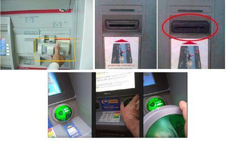 Bon toi pham lay thong tin the cua ban tai tram ATM nhu the nao? - Anh 6