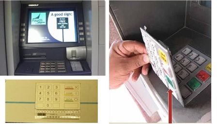 Bon toi pham lay thong tin the cua ban tai tram ATM nhu the nao? - Anh 8