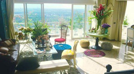 Ngam can penthouse tran ngap sac hoa cua NTK Ly Qui Khanh - Anh 1