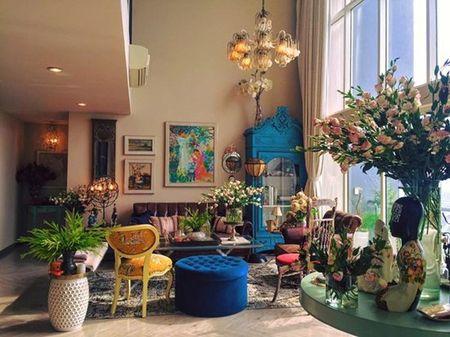 Ngam can penthouse tran ngap sac hoa cua NTK Ly Qui Khanh - Anh 4