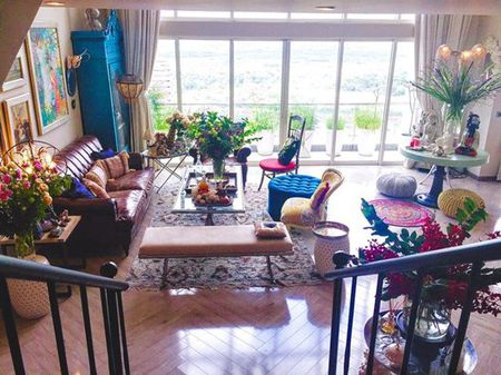 Ngam can penthouse tran ngap sac hoa cua NTK Ly Qui Khanh - Anh 5