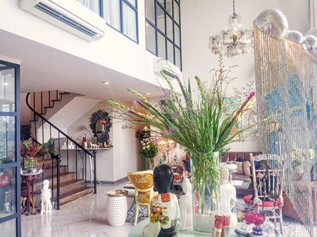 Ngam can penthouse tran ngap sac hoa cua NTK Ly Qui Khanh - Anh 7