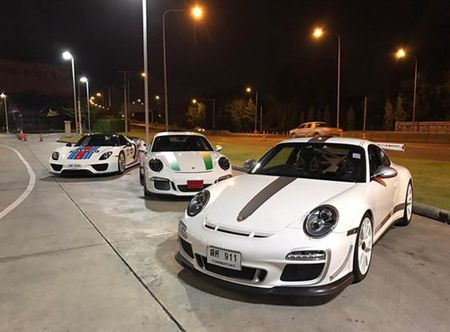 """Phat them"" voi dan xe the thao Porsche 911 R o Thai Lan - Anh 10"