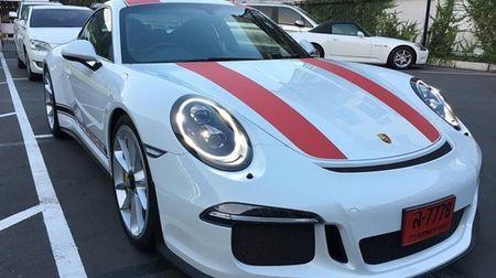 """Phat them"" voi dan xe the thao Porsche 911 R o Thai Lan - Anh 1"