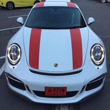 """Phat them"" voi dan xe the thao Porsche 911 R o Thai Lan - Anh 5"