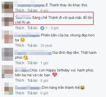 Tran Thanh bi fan nghi ngo 'mac nham quan' Hari Won khi du sinh nhat con trai Ha Ho - Anh 2