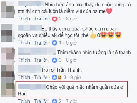 Tran Thanh bi fan nghi ngo 'mac nham quan' Hari Won khi du sinh nhat con trai Ha Ho - Anh 3
