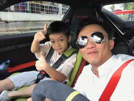 Tran Thanh bi fan nghi ngo 'mac nham quan' Hari Won khi du sinh nhat con trai Ha Ho - Anh 9