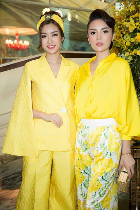 Ky Duyen, Do My Linh cung 'chay dua' mot quan ong rong - Anh 1