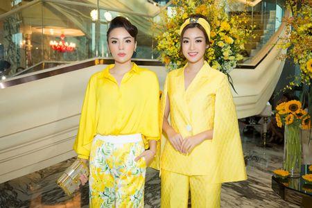 Ky Duyen, Do My Linh cung 'chay dua' mot quan ong rong - Anh 2
